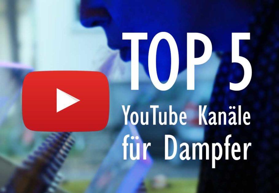 Die besten E-Zigaretten YouTuber