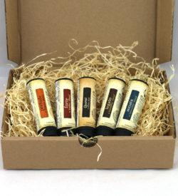 Box mit 5 natürlich extrahierten Tabak-Liquids