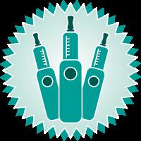 3 E-Zigaretten Icon