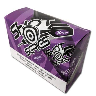 10er Pack Nikotin-Shots von Highclass Liquids für E-Zigaretten Liquid zum Selbstmischen 100% VG