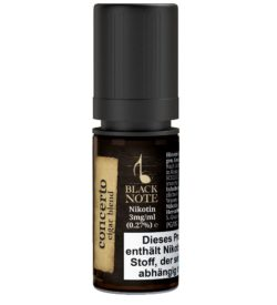Black Note Concerto 10ml Liquid