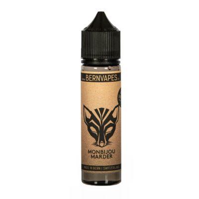 Bern Vapes Monbijou Marder - Shake and Vape Liquid für E-Zigaretten 60ml Flasche