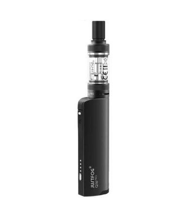 Q16 Pro von Just Fog - E-Zigaretten Starter-Set mit Topfillfunktion, Farbe: schwarz