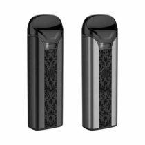 Uwell Crown Pod Kit E-Zigaretten pod System schwarz und gunmetal