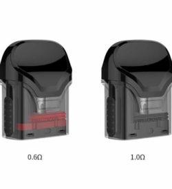 E-Zigaretten Ersatz-Pods für Crown Pod Kit 0,6Ohm und 1,0 Ohm