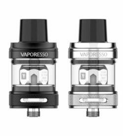 Vaporesso NRG PE Tank in silber und schwarz