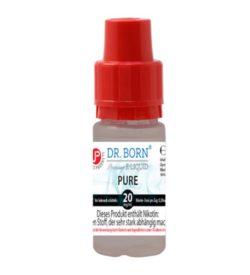 Dr. Born Pure E-Zigaretten Liquid Nikotinshot 90:10 für Dampfer mit Propylenglykol-Unverträglichkeit